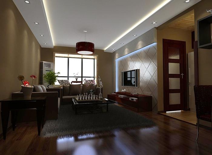 东方至尊中式风格装修效果图实景图