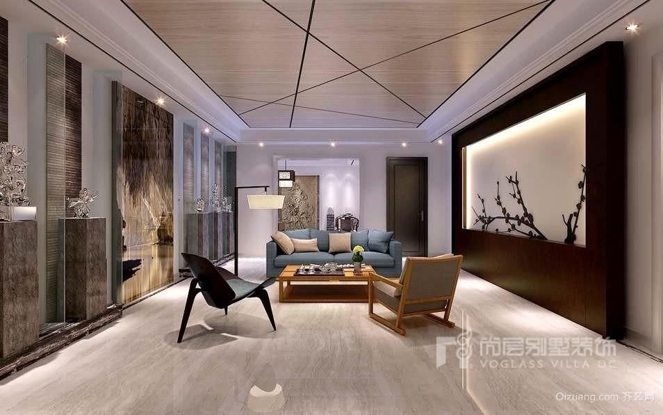 万通新新逸墅中式风格装修效果图实景图