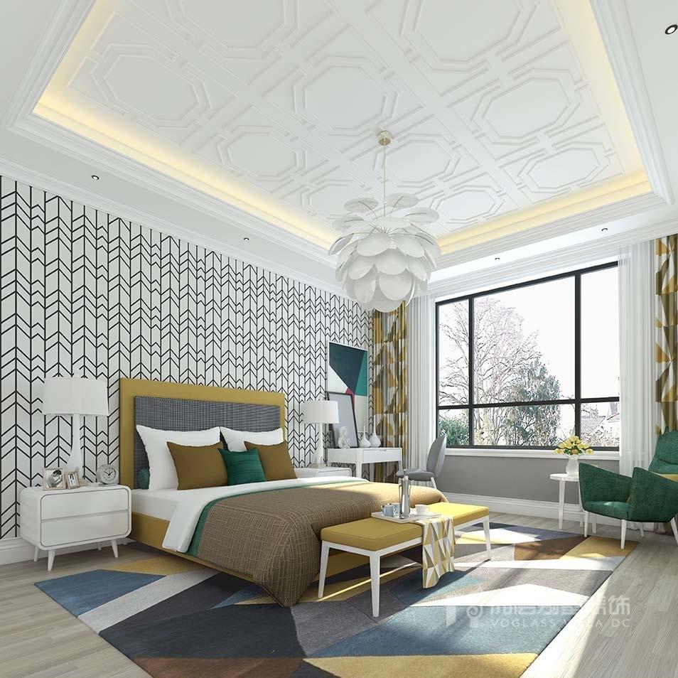 棠府别墅欧式风格装修效果图实景图