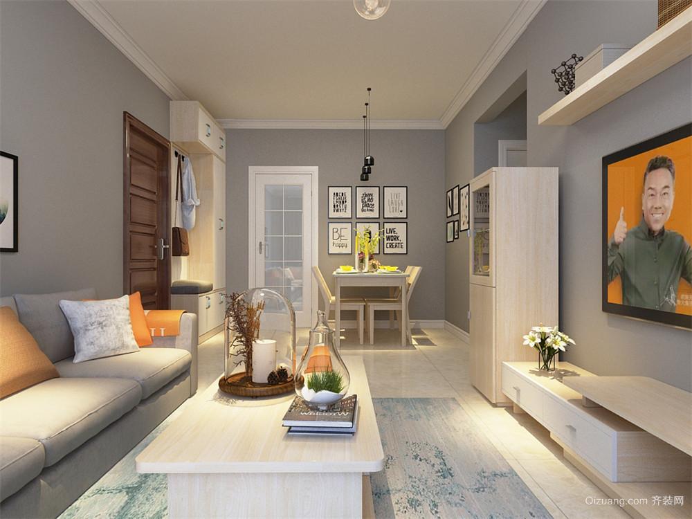 双清新家园现代简约装修效果图实景图
