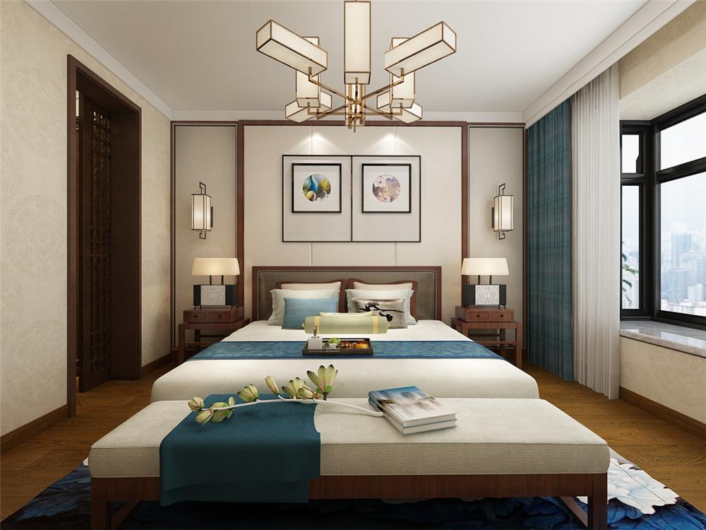天津津南新城中式风格装修效果图实景图