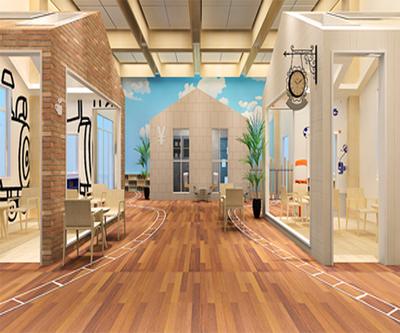 梧州幼儿园大堂装修设计案例