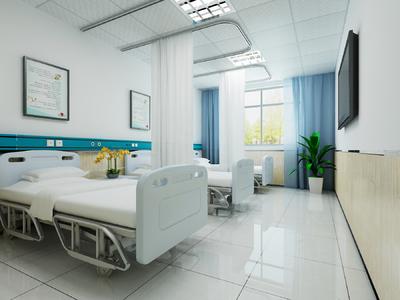 蒲城医院装修设计案例