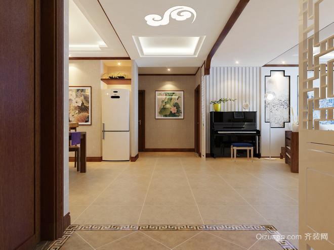 坤泽十里城中式风格装修效果图实景图