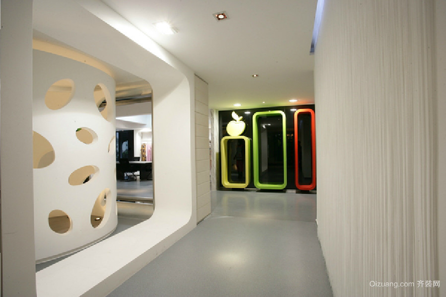 展厅公装混搭风格装修效果图实景图