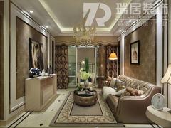 [瑞居装饰]江城国际瑞华苑法式风格装修效果图