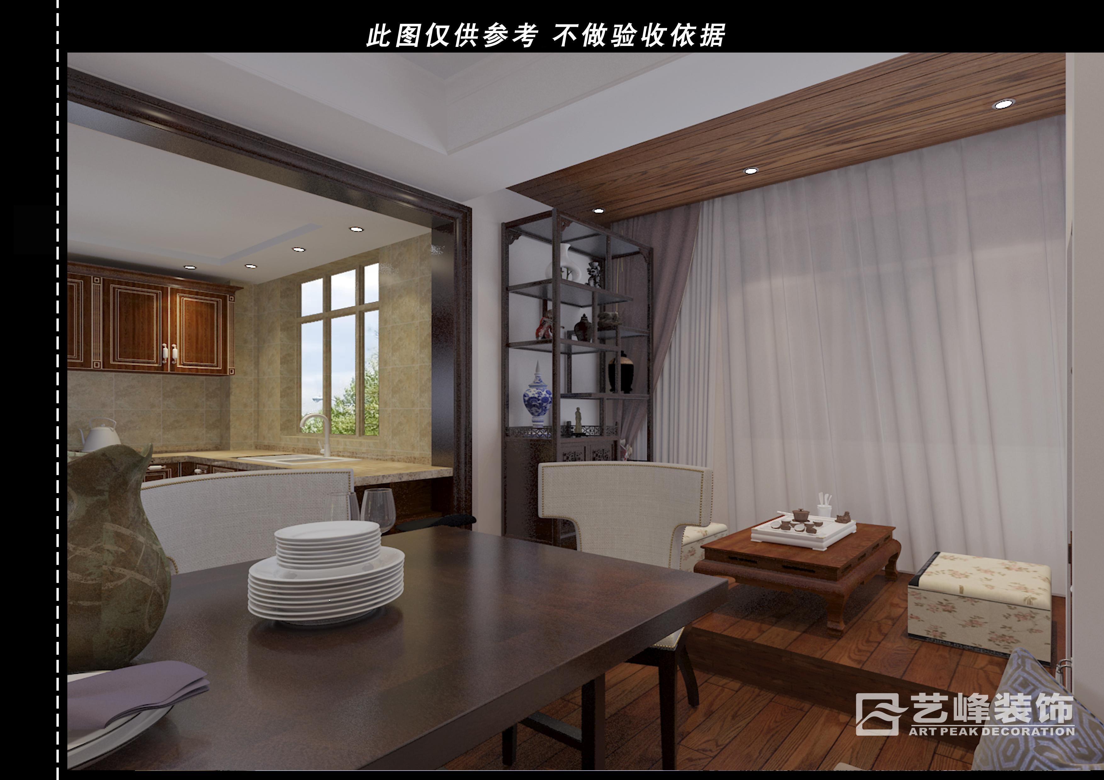 家和小區現代簡約裝修效果圖