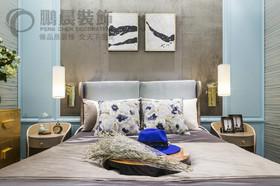 伟星玲珑湾藏岛123平轻奢风格装饰效果图
