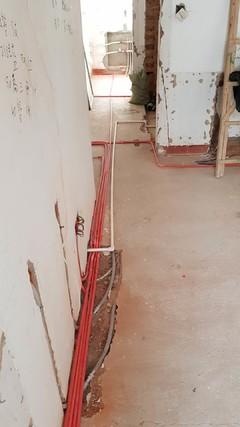 古山五巷旧房水电施工