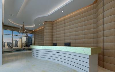 温州办公楼装修设计案例