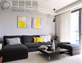 新华联梦想城128平欧式风格装修效果图案例
