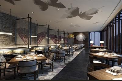 嘉兴西餐厅装修案例装修设计案例