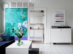 新华联梦想城88平美式风格装饰效果图