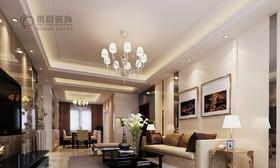 信德悦城 87平现代风格装修效果图