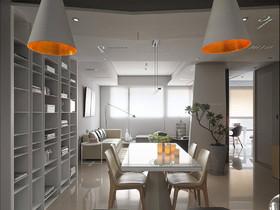 139现代简约三居装修设计案例