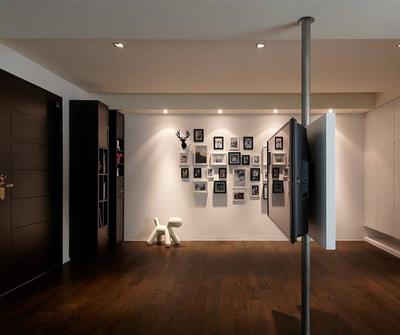 金山149现代简约三居装修设计案例