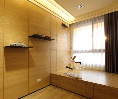 金山125现代简约三居装修设计案例