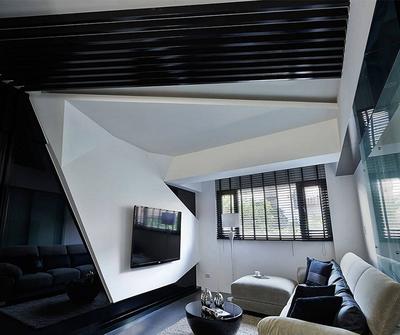 金山106简约三居装修设计案例
