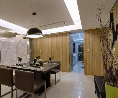 金山119现代简约三居装修设计案例