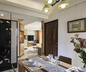 132现代简约四居装修设计案例