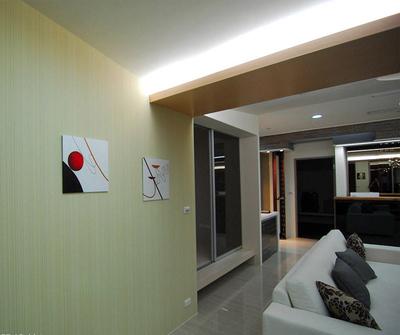 金山198现代简约三居装修设计案例