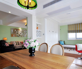 134欧式两居装修设计案例