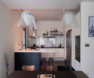 金山231现代简约三居装修设计案例