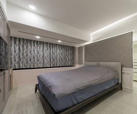 135现代简约三居装修设计案例