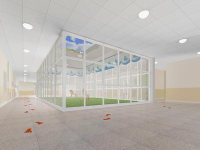 青岛幼儿园装修设计案例
