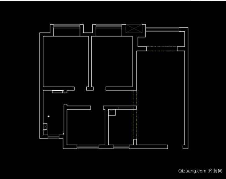 中海兰庭现代简约装修效果图实景图