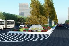 碧桂园道路绿化