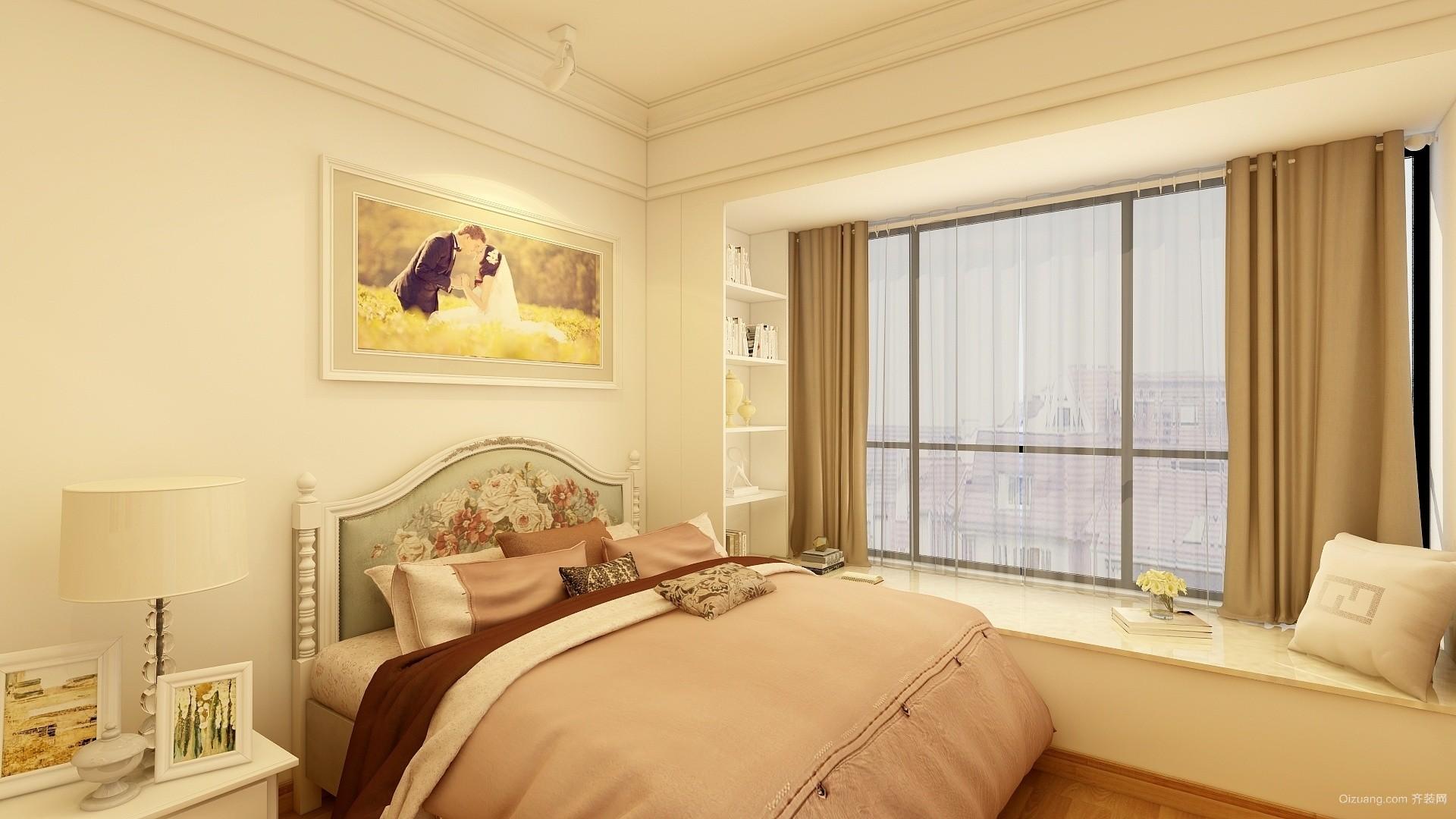 紫荆花园现代简约装修效果图实景图