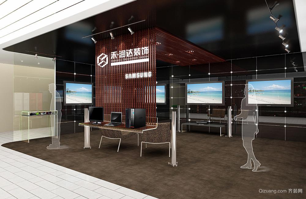 三星展厅现代简约装修效果图实景图