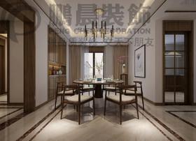 [鹏晨装饰]翰林公馆127平 新中式风格装修效果图
