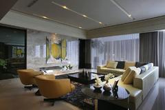 紫金豪庭现代简约装修案例