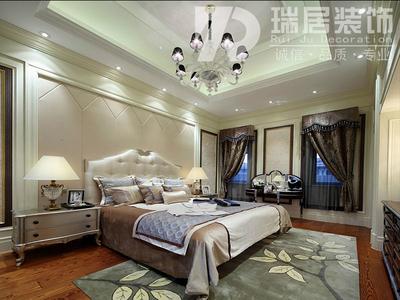 芜湖[瑞居装饰]蓝山逸居欧式风格装修效果图装修设计案例