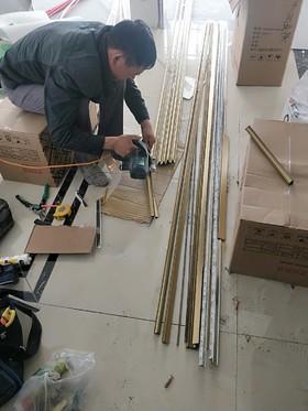 华隆鑫城1-2602成品安装