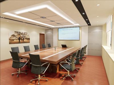 嘉兴会议室装修设计案例