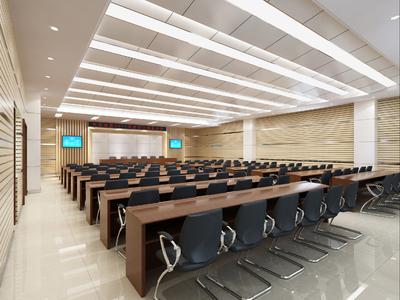 海盐会议室装修设计案例