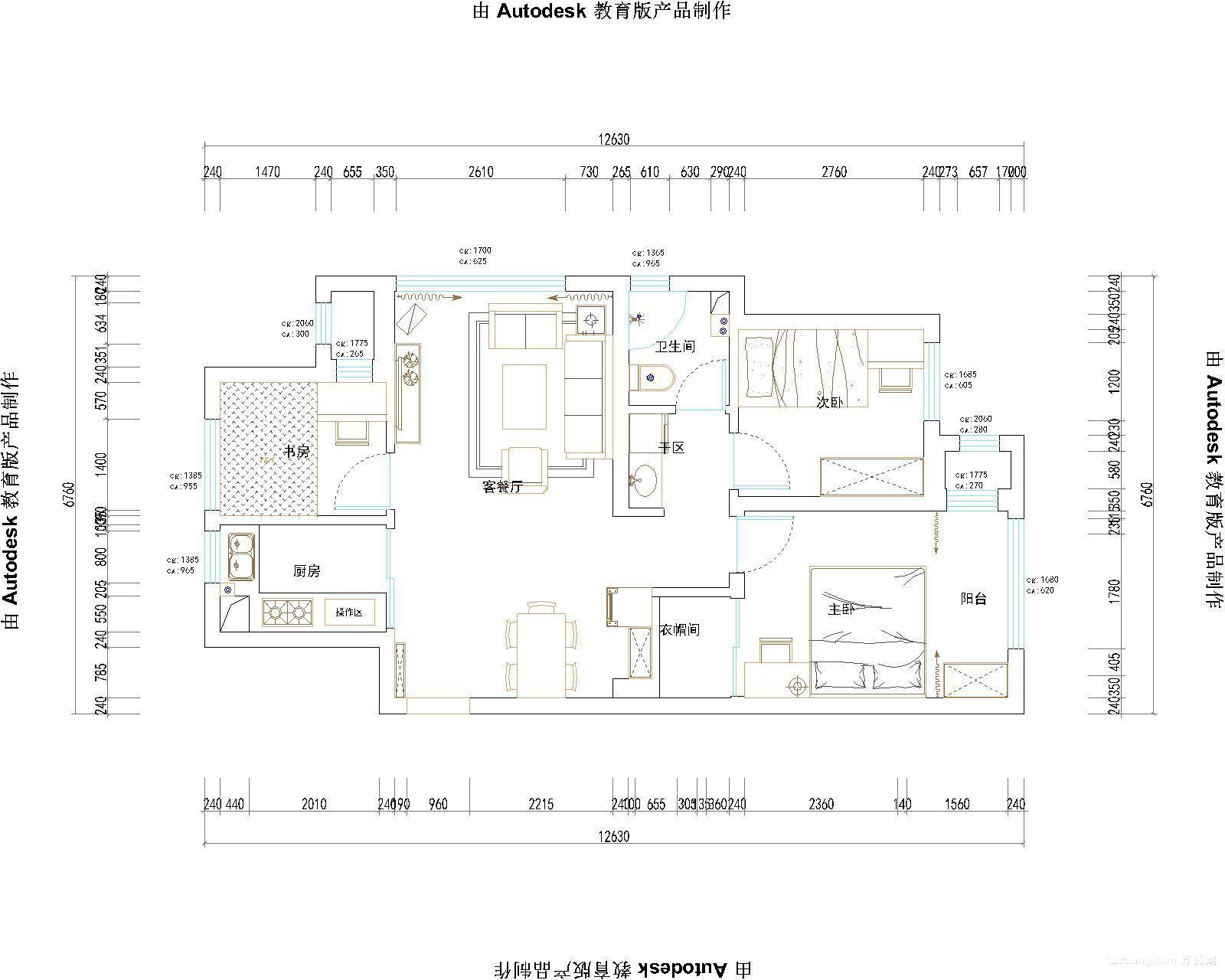 绿城理想之城郁金香岸现代简约装修效果图实景图