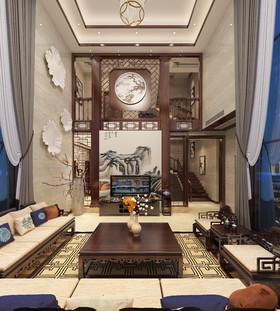 自建别墅中式风格关先生雅居