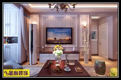 中建锦绣城欧式风格装修案例