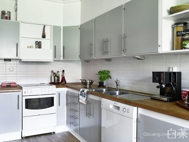 白鹤家园欧式风格装修效果图实景图