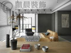 [鹏晨装饰]金浩仁和天地 112平现代风格装修效果图