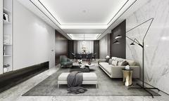 [宁波尚层装饰]东方一品 现代简约风格 400平方米