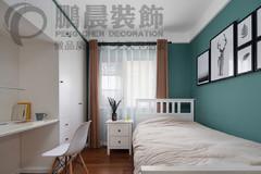 [鹏晨装饰]世茂滨江二期118平现代风格装修效果图