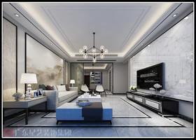 御花园-黑白灰-126平方-四居室装修设计案例
