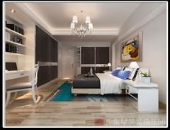 基金大厦-黑白灰-126平方-三居室