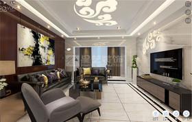 新天城市广场-四居室装修设计案例