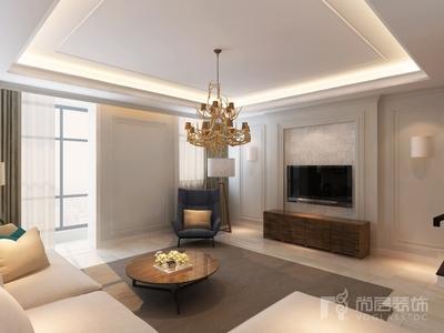 天津现代简约别墅装修效果图装修设计案例